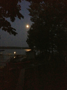 torch lake moon