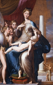 Parmigianino-Madonna of long neck